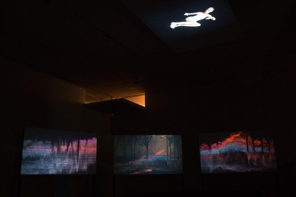 Installation view, RUPTURE, Bendigo Art Gallery, 2018