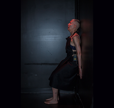 Virginia Barratt (performer) with Linda Dement and Jessie Boylan, RUPTURE, Esme Timbery CPL, UNSW, Sydney, 2019